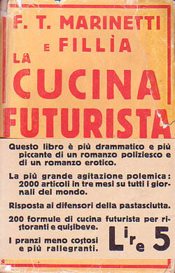 Manifesto della cucina futurista 1931 marinetti