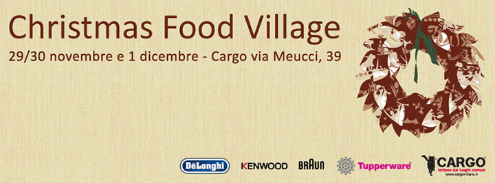 Christmas Food Village Cargo