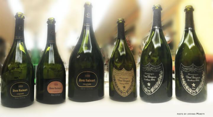 Dom Ruinart e Dom Pérignon, difficile scegliere