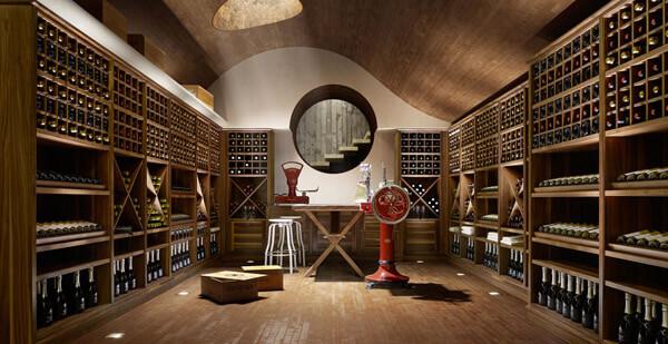 La cantina domestica secondo l ottocento cucine d 39 italia - Mobili da cantina ...