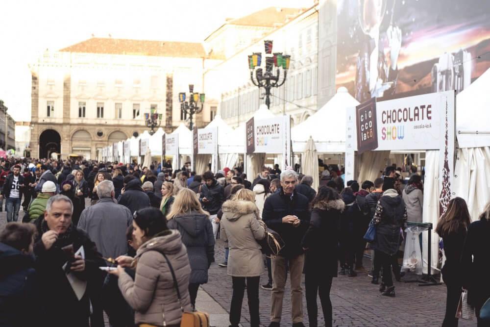 evento cioccolato torino - piazza