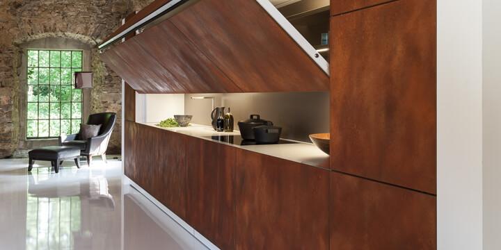 Hidden kitchen la cucina nascosta di warendorf cucine d for Cucine low cost roma