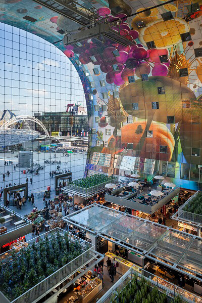Markt Hal, Rotterdam