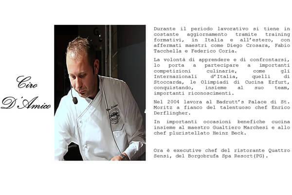scheda chef