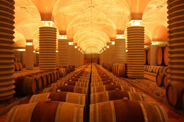 toscana wine architecture