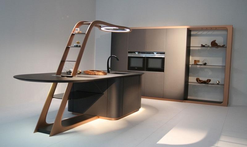 Snaidero cucina Aria Pininfarina Eurocucina 2016