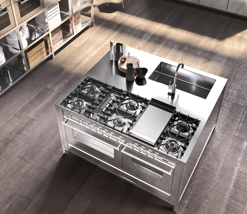 Cucine ilve la professionalit in casa cucine d 39 italia for Cucine low cost roma