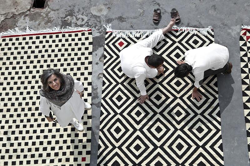 inspired in barcelona Nanimarquina_Melange pattern 1 di Sybilla