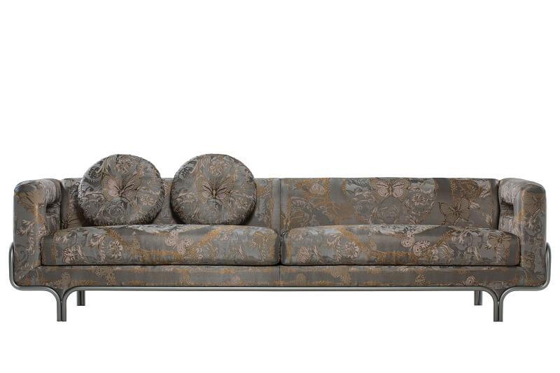 Versace Home 2017 Le jardin sofa