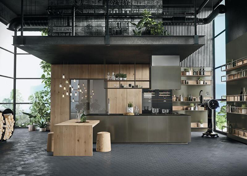 Anta in alluminio per la nuova cucina Opera di Snaidero - Cucine d ...