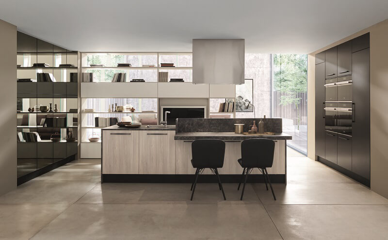 Febal casa nuovi materiali e finiture per le cucine ice e for Cucine per casa