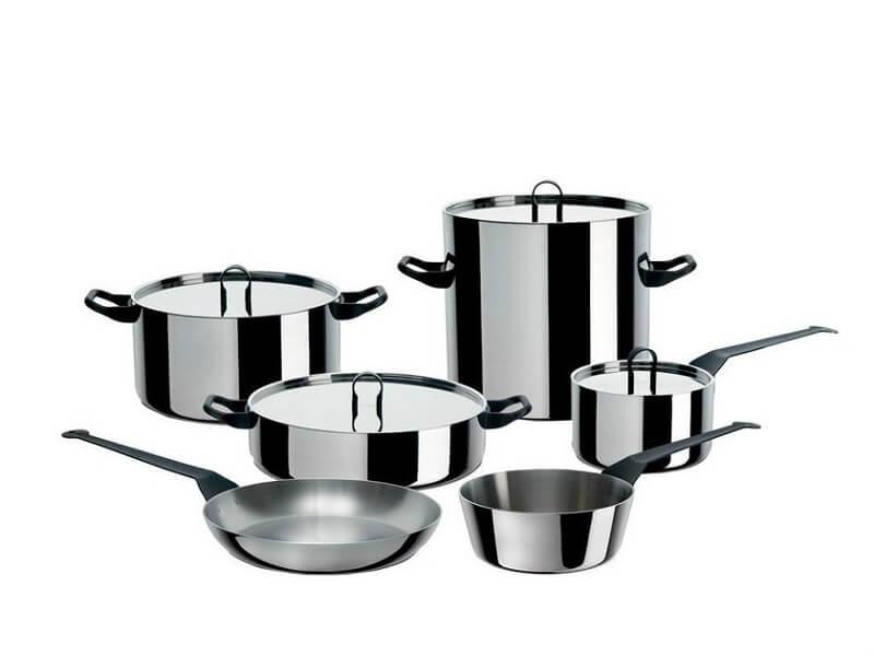 Collezioni Alessi La cintura di orione cookware set
