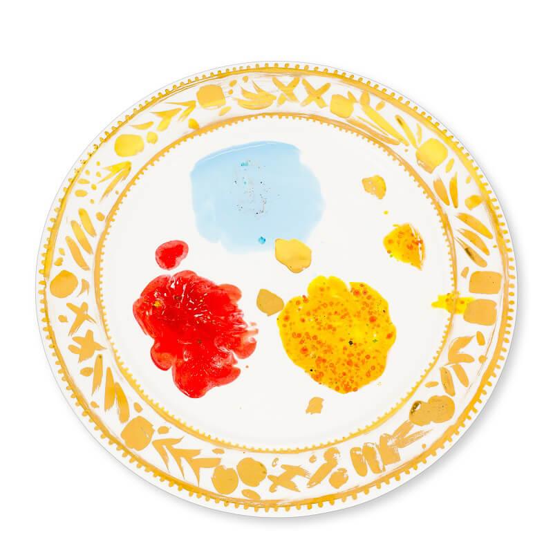 Coralla Maiuri Villa Borghese_Caravaggio_serving plate