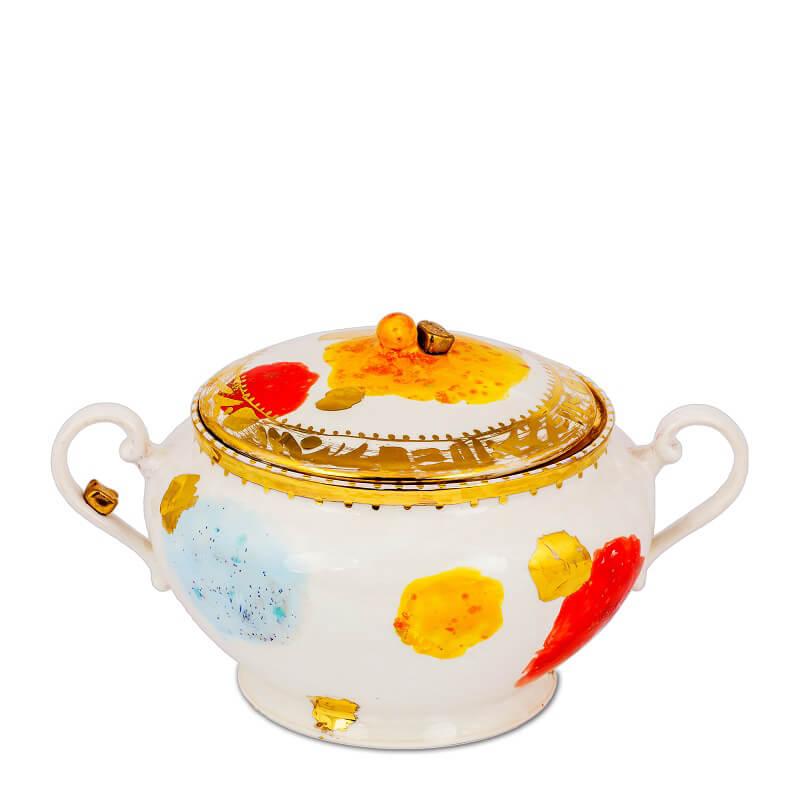 Coralla Maiuri Villa Borghese_Caravaggio_tea pot