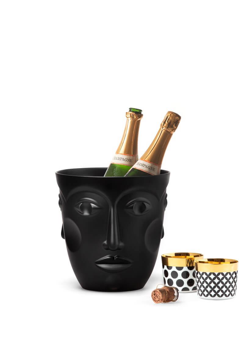 Champagne Cooler Faces di Sieger by Fürstenberg