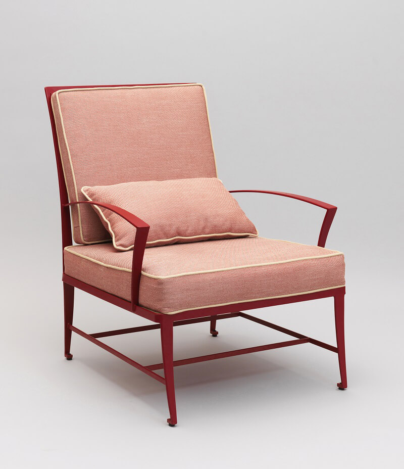 Officinaciani Zig Zag armchair Red Pear