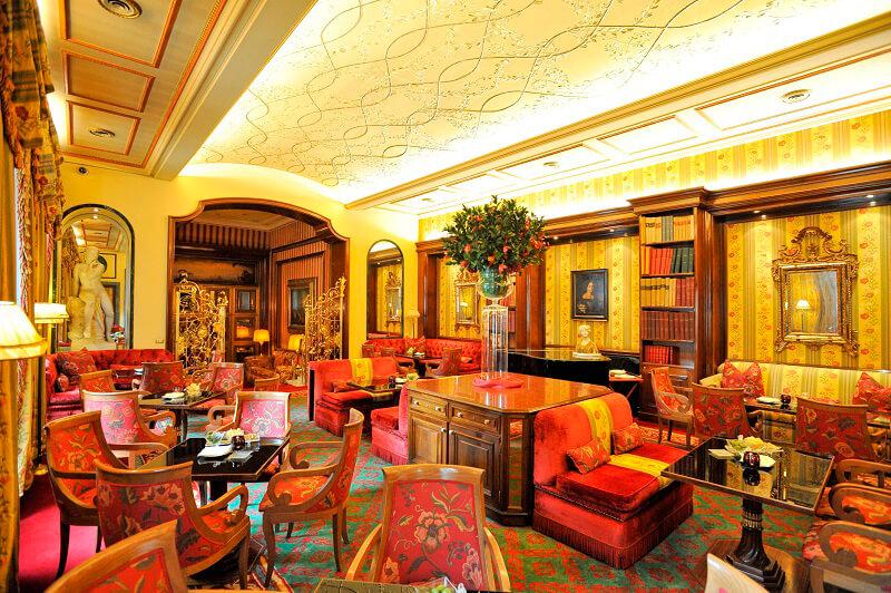 Natale a Roma Salone Eva Hotel Hassler